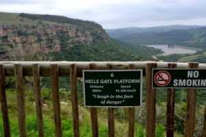 Zip-line Oribi Gorge Durban South Africa
