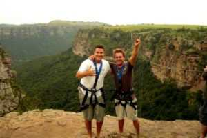 Oribi gorge day tour itinerary, the swing