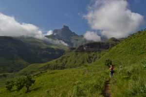 You can do the Gorge hike to Tugela falls on the Northern Drakensberg Tour