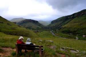 A nice relaxing hike to explore the Giants Castle Region on the Central Drakensberg Tour