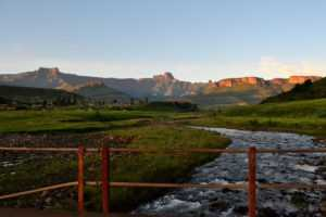 The iconic Amphitheater on the Northern Drakensberg Tour